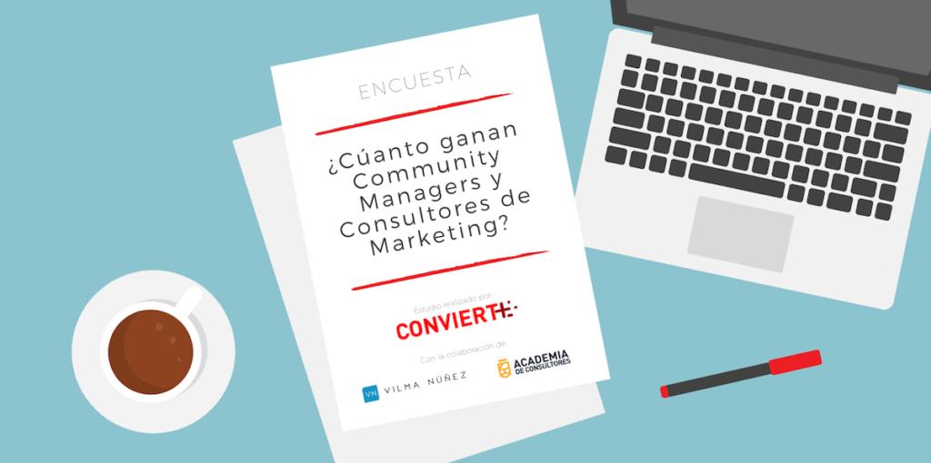 CUANTO ganan Community Managers y Consultores de Marketing