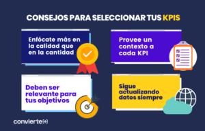 Cómo seleccionar los KPIs